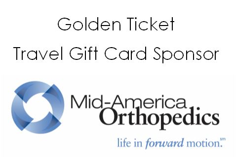 2019 Golden Ticket Travel Gift Card Sponsor for the Butler Benefit Auction