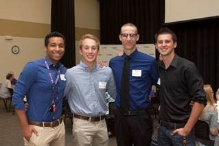 Students and Donors Learn from each other at Annual Luncheon
